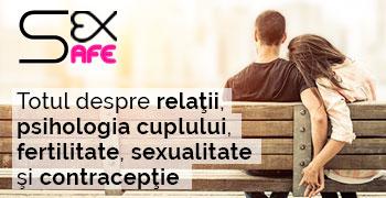 Sexsafe - Totul despre relatii, psihologia cuplului, fertilitate, sexualitate si conceptie