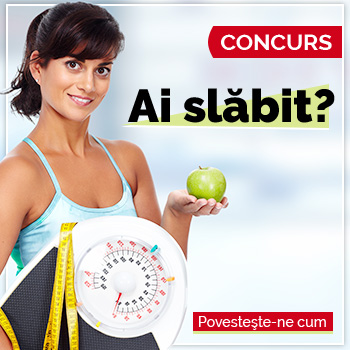 Concurs: Ai slabit? Povesteste-ne cum