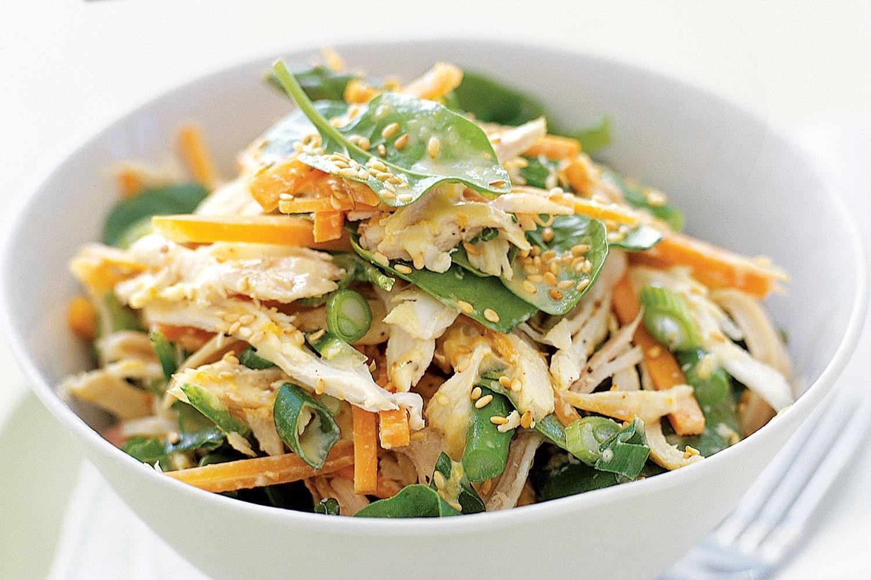 Капустный салат диета японская